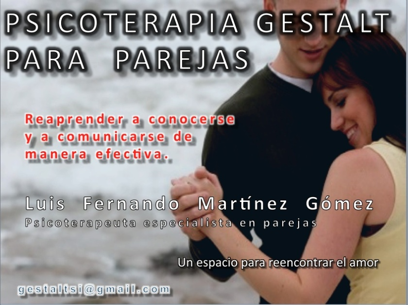 terapia gestalt para parejas