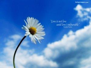El amor verdadero es, necesariamente, vulnerable