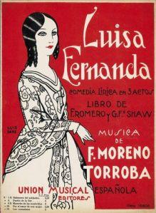 Luisa Fernanda_zarzuela