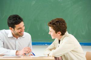 maestro y alumno