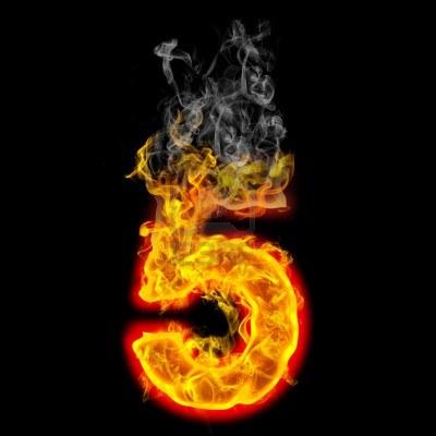número personal 5 para el 2013