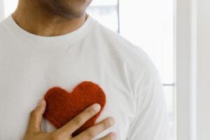 corazón masculino