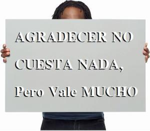 AgradecerNoCuestaNada