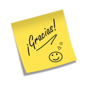 Post-it GRACIAS