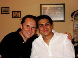 Axayacatl Campos y Luis Fernando Martínez