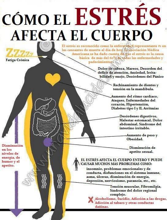 estrés y enfermedades relacionadas
