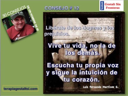 12. Libérate de los prejuicios