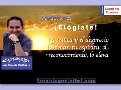 Consejo 23 elógiate