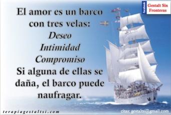 El amor es un barco