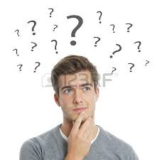 lleno de dudas e interrogantes