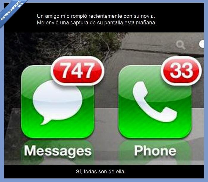llamadas y mensajes