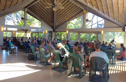 Dharma Talks by Robert K Hall Photo Alvaro Colindres