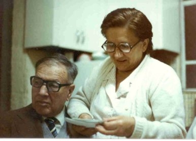 Mis padres Miguel Martínez V. y Carmen Gómez Rivera